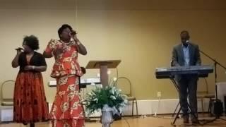 Ta présence me fait du bien - Chantre Béatrice Gnoupalé | MFCI Church Culte du 24 Juillet 2016