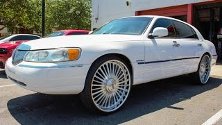 Lincoln Towncar On 26 Inch Homage Wheels In Hd By S Johnson Photos