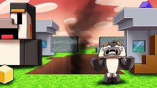 Minecraft - WHO DESTROYED MY MINECRAFT BASE!?