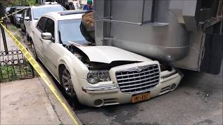 Video FDNY & NYPD ON SCENE OF JACKKNIFED OVERTURNED SEMI TRACTOR TRAILER ONTO A PARKED CAR IN HARLEM. download MP3, 3GP, MP4, WEBM, AVI, FLV Agustus 2018
