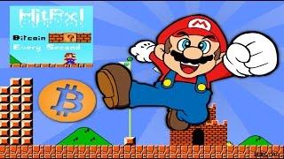 Bitcoin кран в виде игры Super Mario - HitPxl