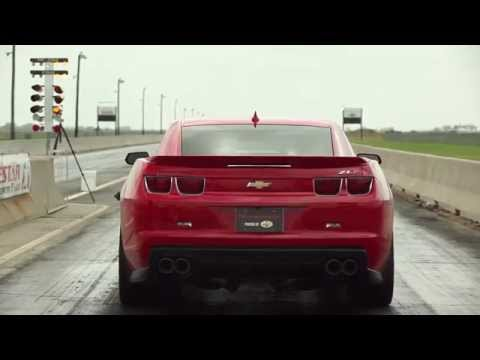 Watch a 1000-hp Hennessey Camaro Slay Its Tires