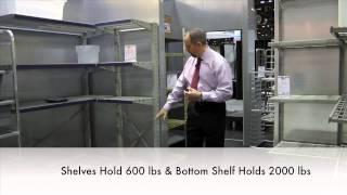 Cooler/freezer Efficiency Cantilevered Shelving By Spg