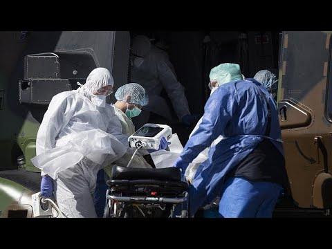 Франция вывозит пациентов из восточных областей
