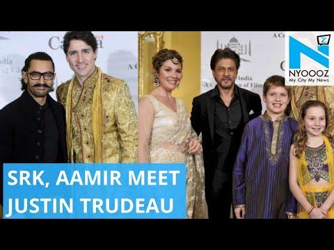 Shah Rukh to Aamir; Celebs Meet Canadian PM Justin Trudeau | NYOOOZ TV