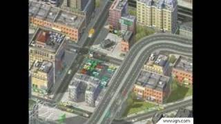 SimCity 4 PC Games Gameplay - E3 2002: Video 1
