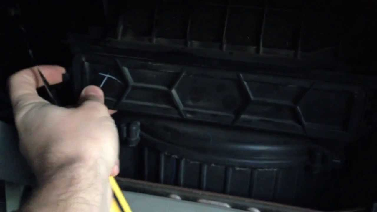 Etonnant How To Change A Cabin Air Filter On A 2008 Honda Odyssey