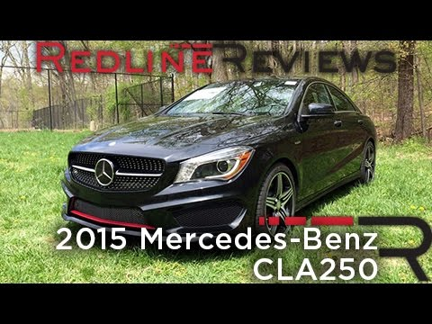 2015 Mercedes-Benz CLA250 – Redline: Review
