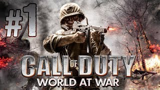 "Call of Duty: World at War - Gameplay Walkthrough (Part 1) ""Semper Fi"""