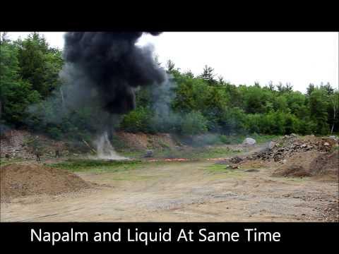 Flamethrower Napalm vs. Liquid Fuel