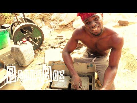 Crazy: How to make Bricks in Nigeria