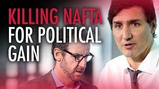 "Liberals on path of economic destruction to secure ""Trump-hate"" votes | Ezra Levant"