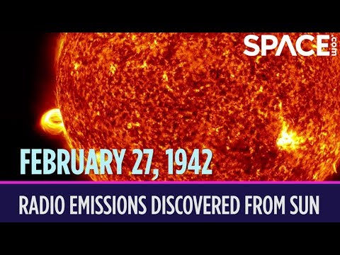 OTD in Space – February 27: J.S. Hey Discovers Radio Emissions From the Sun