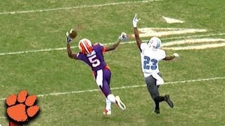 Clemson WR Tee Higgins makes two incredible catches against The Cit...
