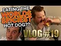 Vlog #19 - Eating the world's allegedly spiciest hot dog!