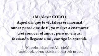 Contigo Aprendi - RAP ROMANTICO - McAlexiz Garcia Ft. Mc Jezee