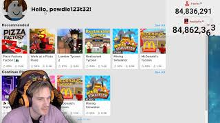 (DELETED PEWDIEPIE VIDEO) Playing Roblox to stop Tseries once and for ALL - Failed Stream