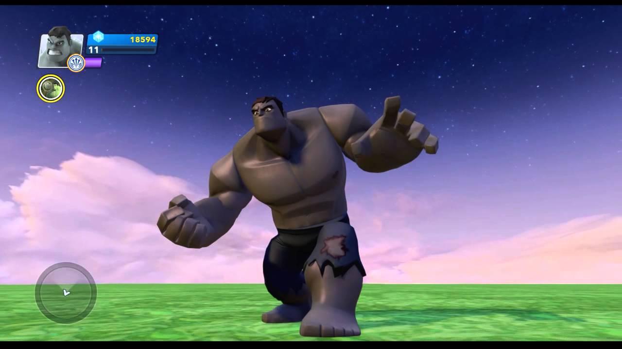 Disney Infinity 2.0 Marvel Super Heroes Hulk Power Disc Gamma Rays Costume Grey Hulk & Disney Infinity 2.0 Marvel Super Heroes Hulk Power Disc Gamma Rays ...