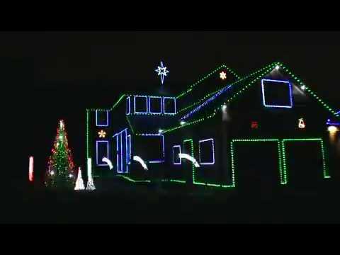 sandstorm techno 2009 mattsonlightscom computerized christmas lights - Computerized Christmas Lights