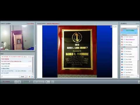 Homer DaBoll Award and David Laird Award