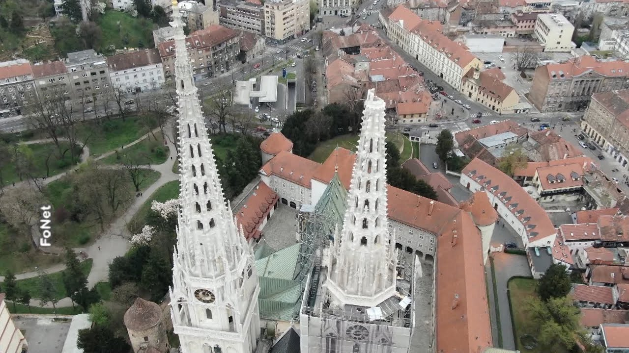 Zemljotres Tesko Ostetio Zagreb Stradao I Toranj Katedrale Youtube