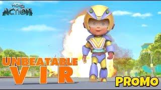 Vir: The Robot Boy   Unbeatable Vir   Action Movie for Kids   Promo   WowKidz Action