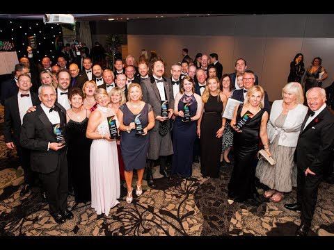 Highlights from the 2017 Courier Business Awards