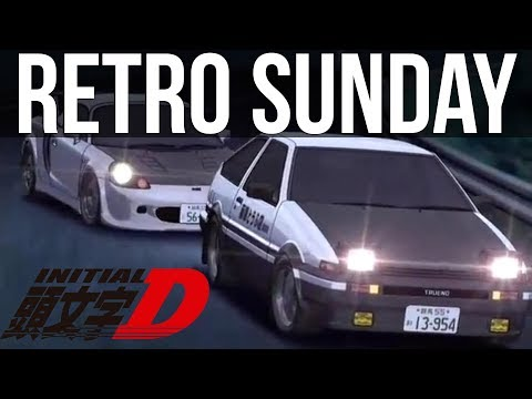 Retro Sunday - Initial D Special Stage