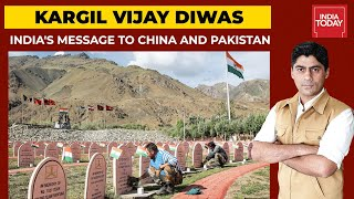 India's Big Message To Pakistan And China From Kargil War Memorial  India First