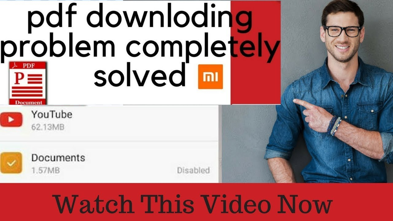 Download Xiaomi/Redmi document(pdf) downloding problem completely solved.....