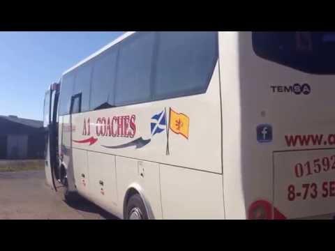 35 Seat Coach Hire In Fife, Scotland