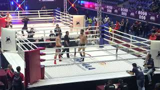 93+kg: Oswaldo Gil (Spain) vs. Anatoliy Malykhin (Russia). 2017 World MMA Championships