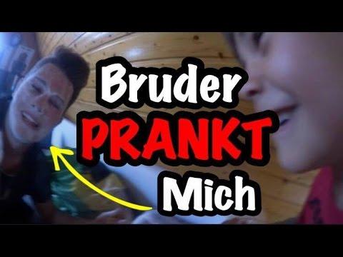 Mein kleiner BRUDER PRANKT MICH!!