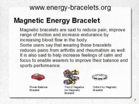 Energy Bracelets Guide You