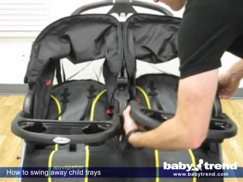 Baby Trend: Navigator Double Jogging Stroller - YouTube