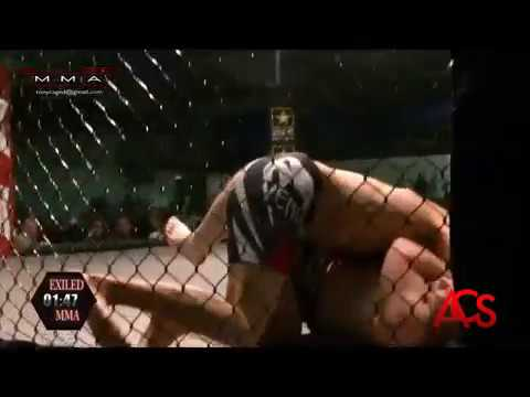 ACSLIVE.TV Present's Exiled MMA Troy Wood vs Joshua Thomas