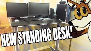 New Desk! - AnthroDesk Standing Desk Review