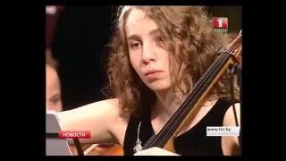 Дали Гуцериева, г.Минск,  1 ТВ канал Белоруссии, репортаж
