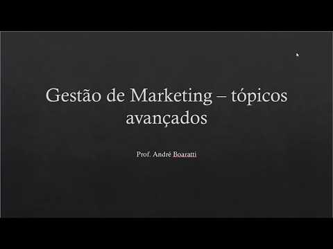 Vídeo Revisão marketing e gestão da produção