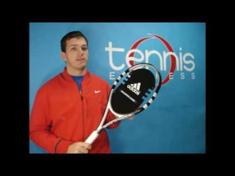 Distribuir intersección Aburrido  ADIDAS BARRICADE TENNIS RACQUETS- Tennis Express Racquet Reviews - YouTube