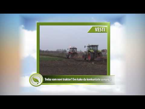 VESTI  - Treba vam novi traktor? Evo kako da konkurišete za njega!