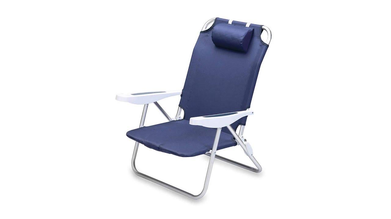 790 Picnic Time Monaco Beach Chair