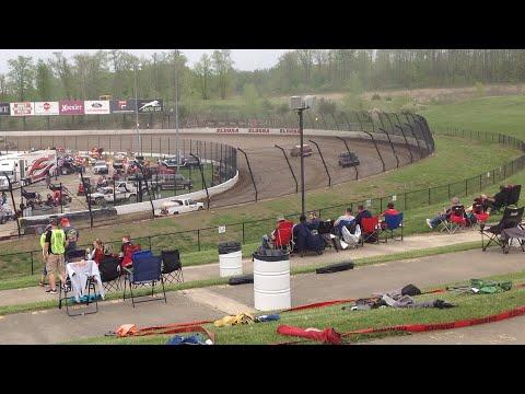 At Eldora Speedway!