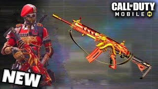 "NEW GUN in CALL OF DUTY MOBILE!!   ""HBRa3"" Gameplay in Call of Duty Mobile in Season 3!"