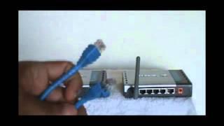 Conexão de CODEC ADSL com Ponto de Acesso