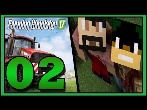 1ERE BETISE  : Farming Simulator 17 - Let's Play Coop