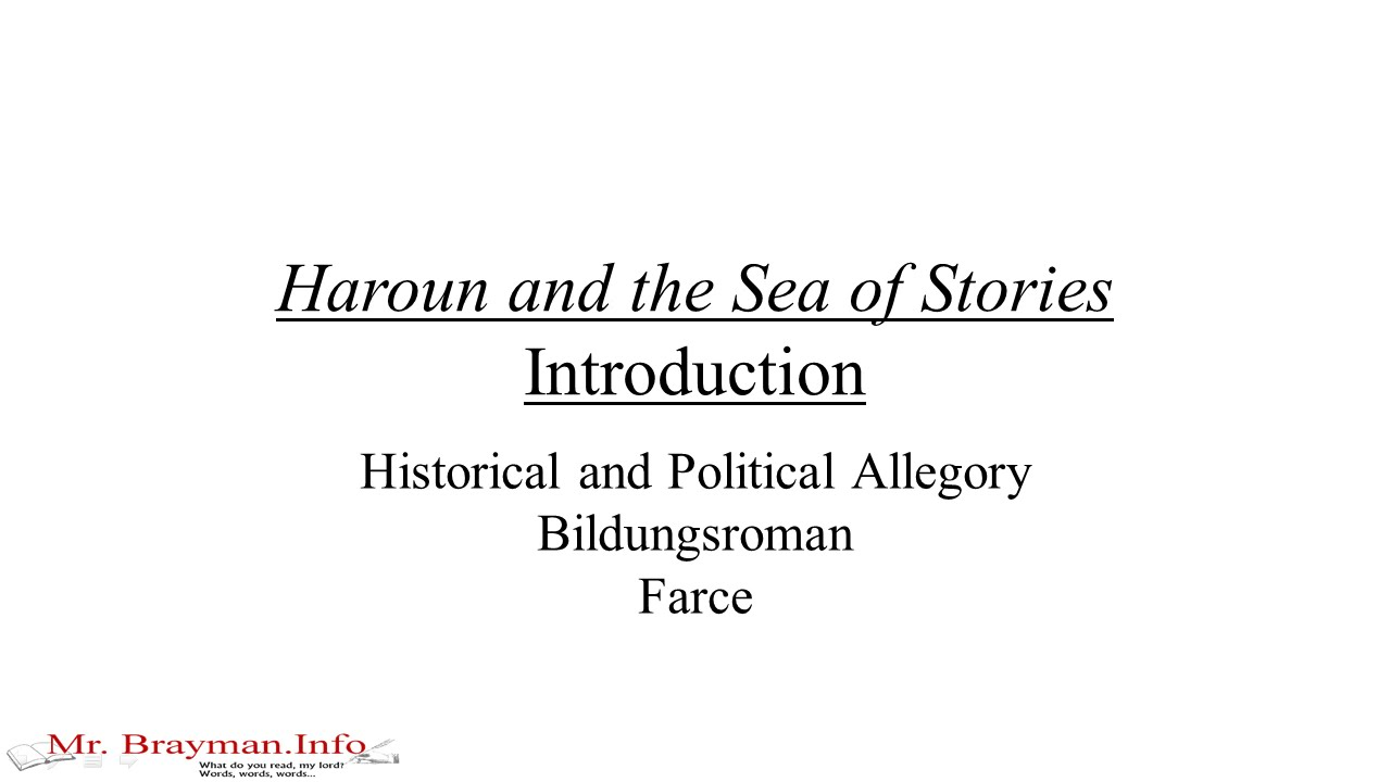 haroun and the sea of stories summary