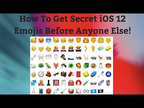 How To Get New Secret Hidden iOS 12 Emojis on iPhone, iPad & iPod!