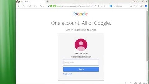 How To Gmail Account Login and Log Out