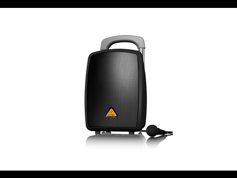 EUROPORT MPA40BT-PRO All-in-One Portable 40-Watt PA System with Bluetooth Connectivity